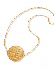 the-stone-sun-necklace-gold