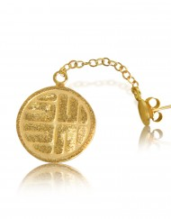 the-stone-sun-earrings-gold-plated