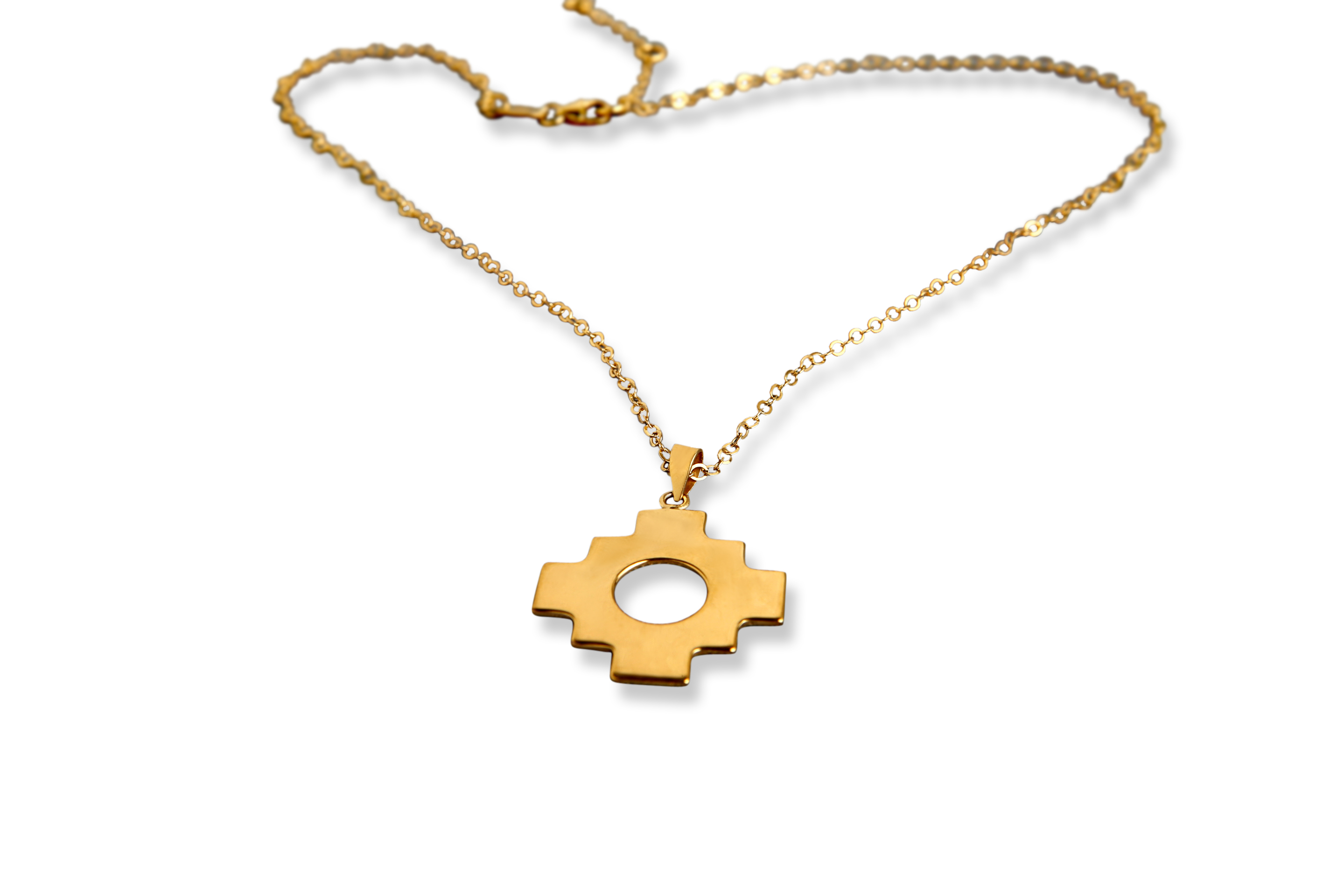 Necklaces archives soluna chakana single necklace gold plated aloadofball Images