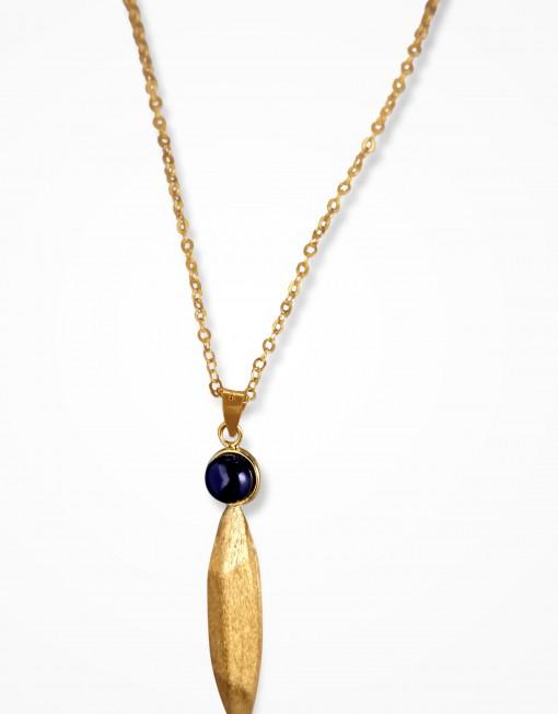 jaguar-obsidian-necklace-gold-plated