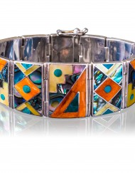 inca-orange-triangles-bracelet